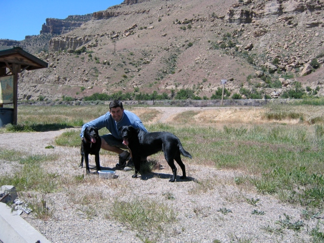 Colorado-Utah Border Rest-stop