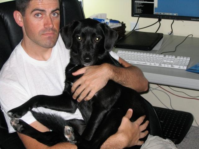 Joe and Puppies 003